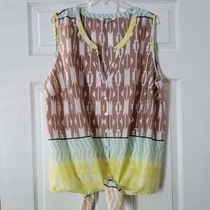 Daniel rainn aztec blouse